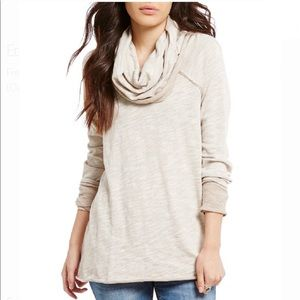 Like new, Free People Cowl Neck Top, Nordstrom